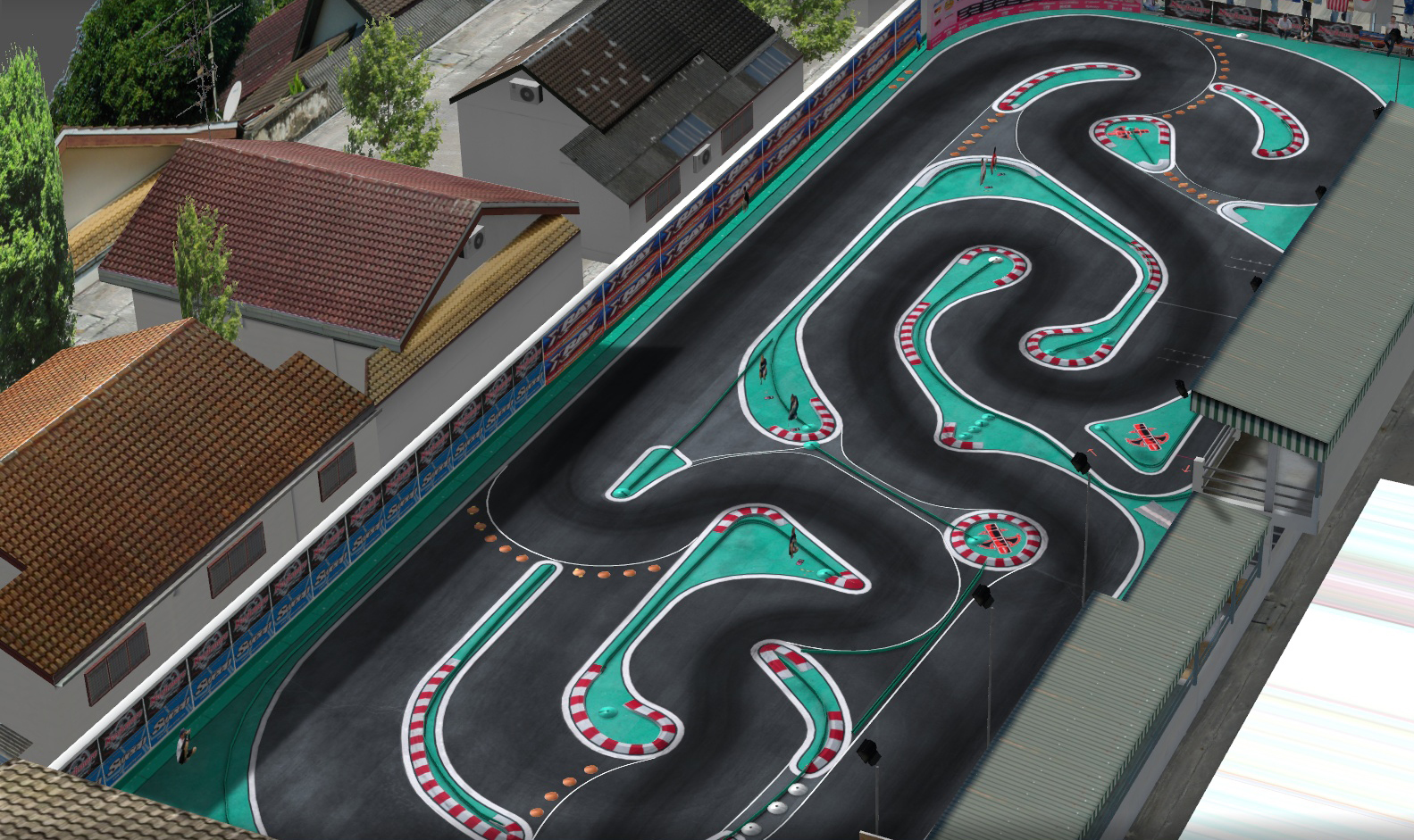 VRC PRO Deluxe Electric on-road tracks screenshot