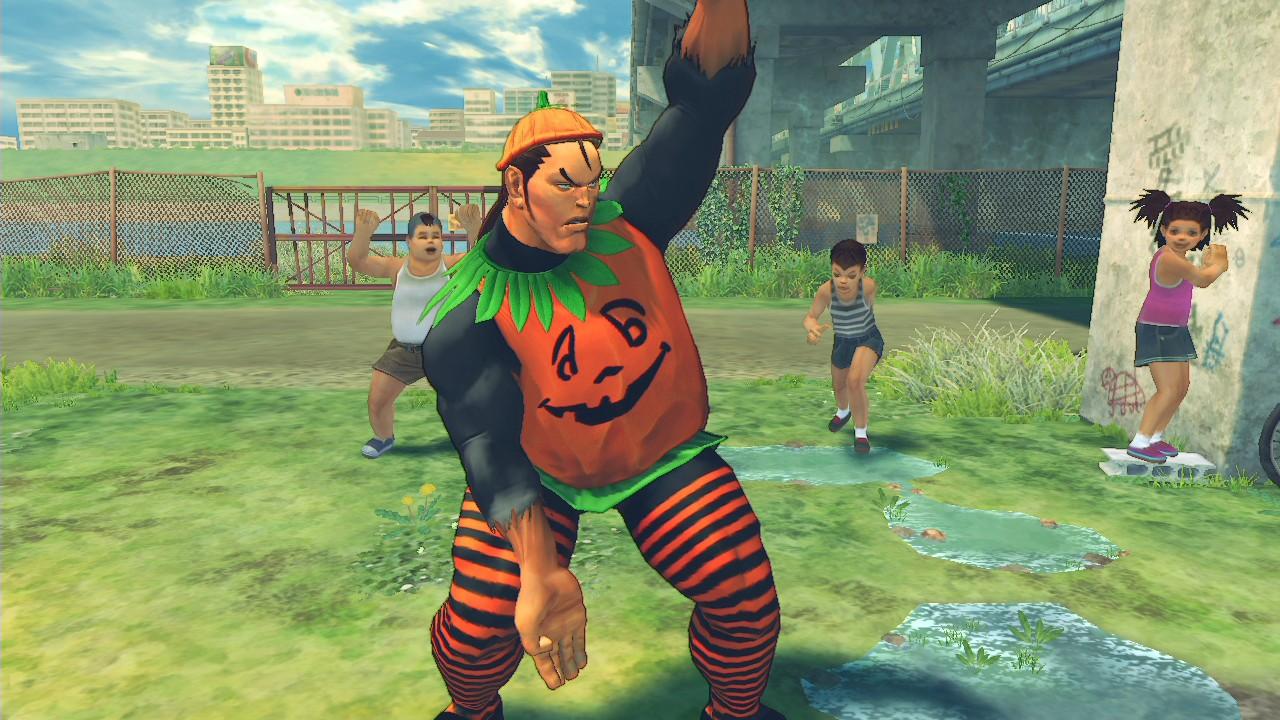 USFIV: Shoryuken Horror Pack screenshot