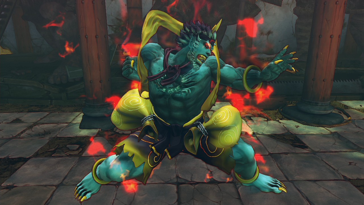 USFIV: Arcade Challengers Horror Pack screenshot