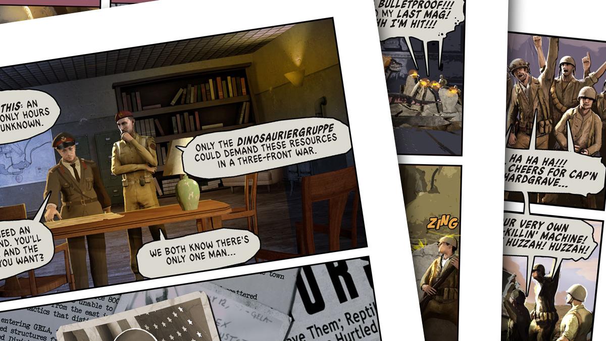 Dino D-Day Comic - Issue #1 screenshot