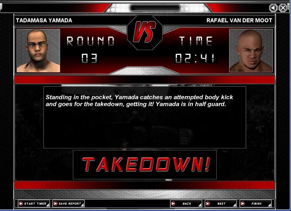 World of Mixed Martial Arts 3 screenshot