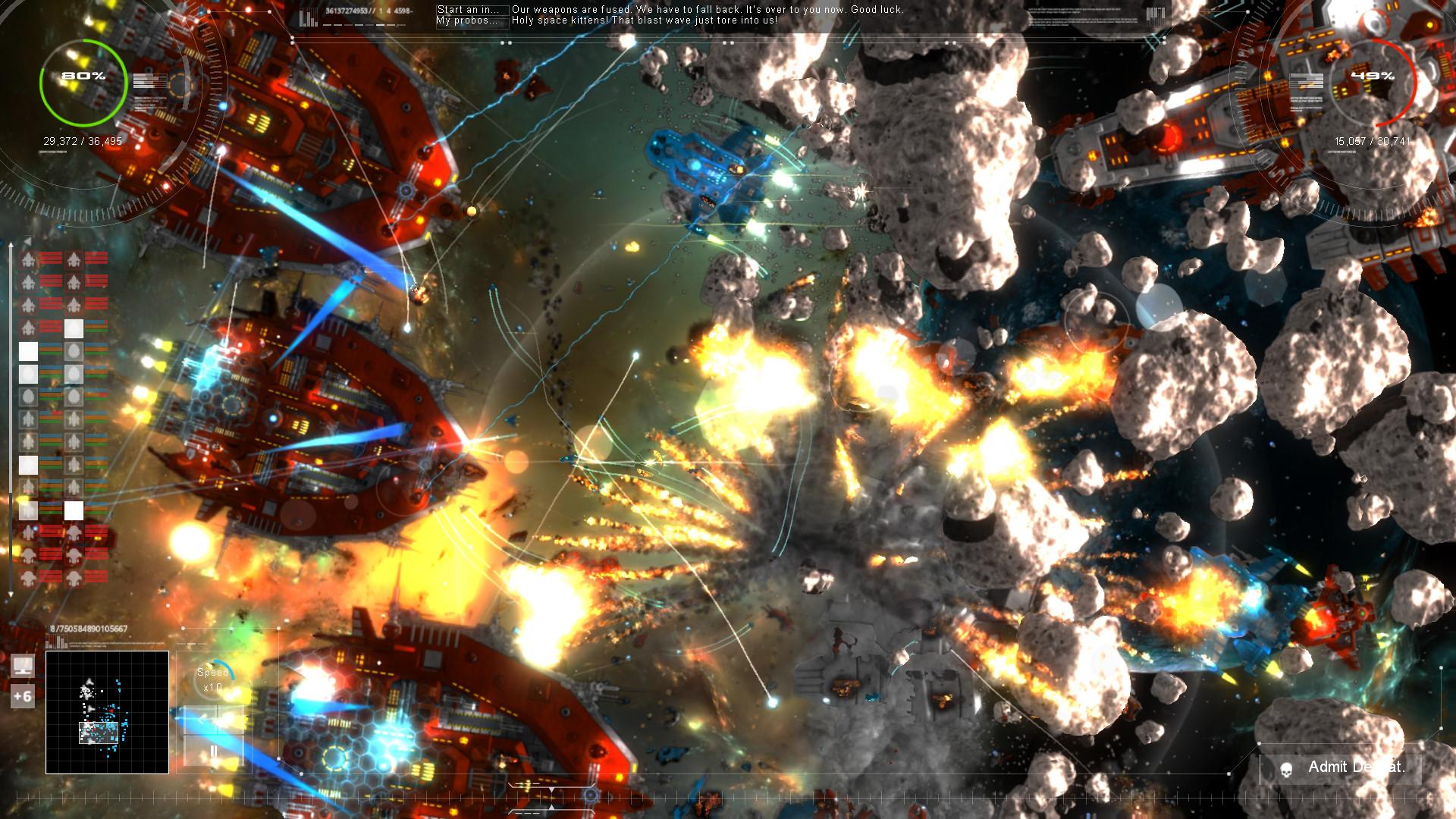 Gratuitous Space Battles 2 screenshot