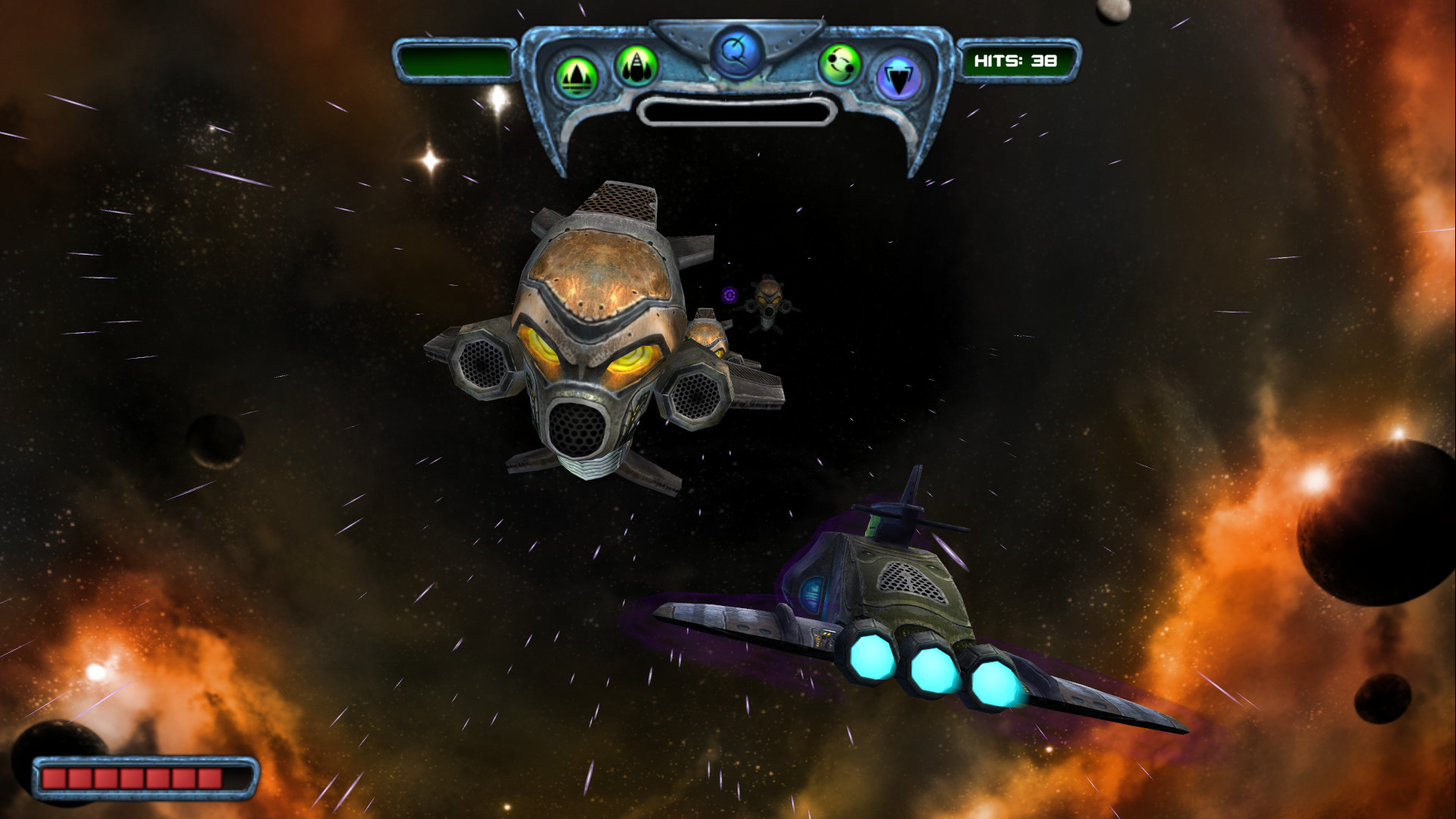 Sun Blast: Star Fighter screenshot