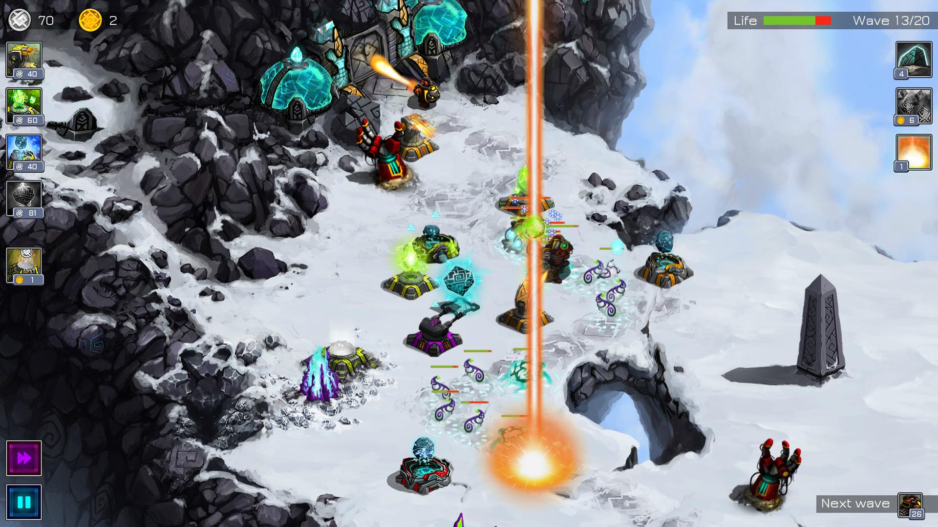Ancient Planet Tower Defense screenshot