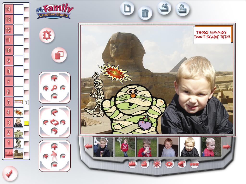 My Family Creative Studio screenshot