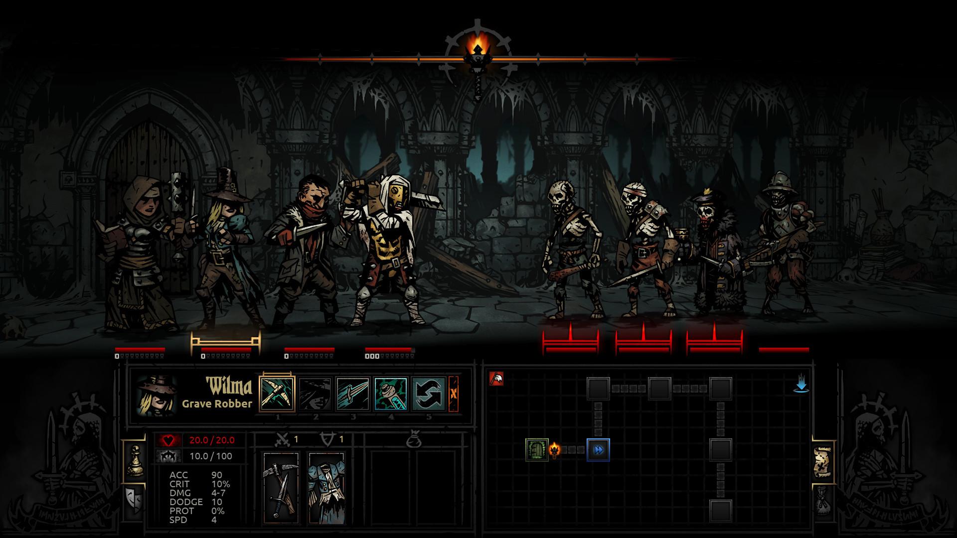 Darkest Dungeon Soundtrack screenshot