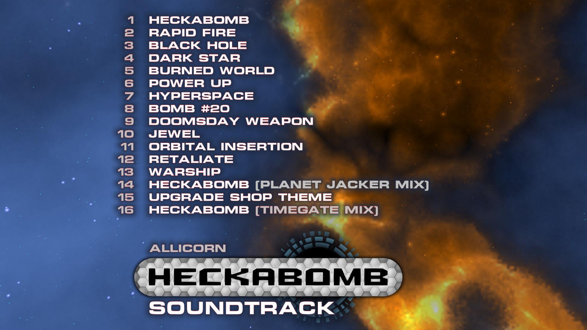Heckabomb - Soundtrack screenshot