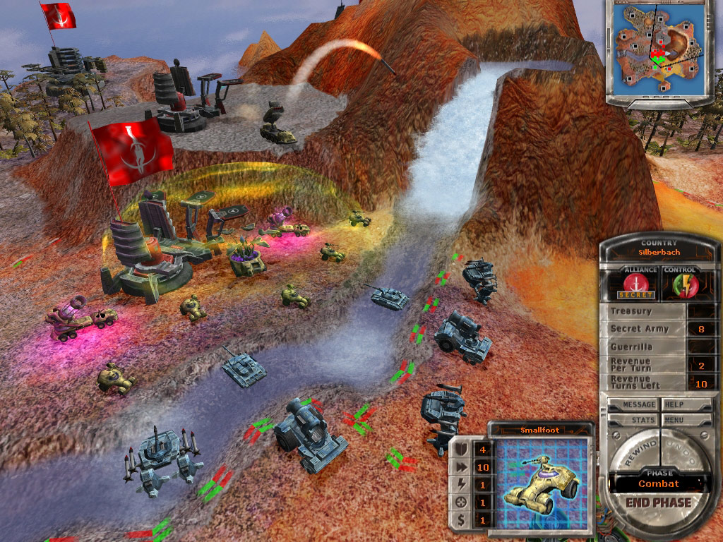 Massive Assault: Phantom Renaissance screenshot