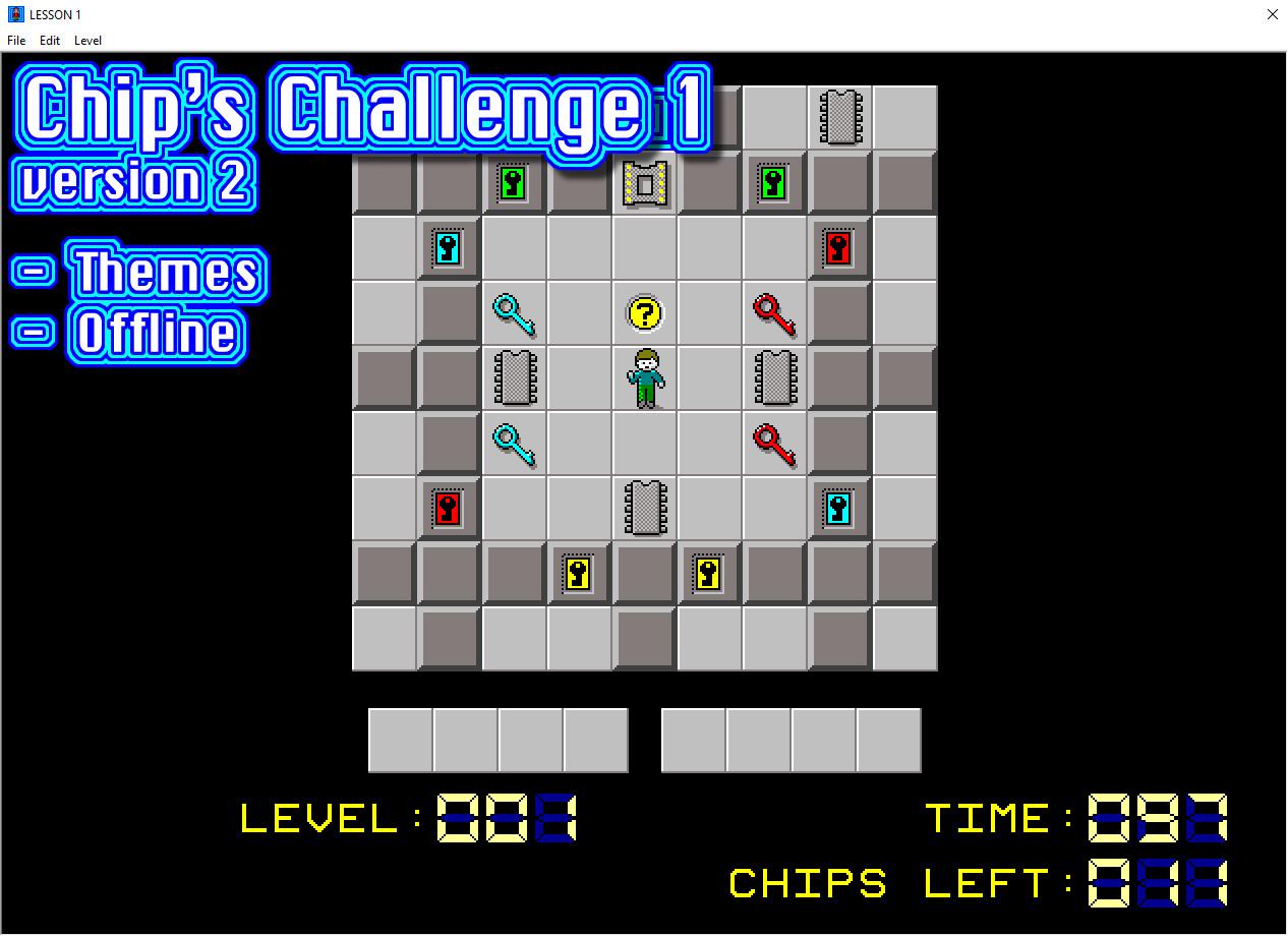 Chip's Challenge 1 screenshot