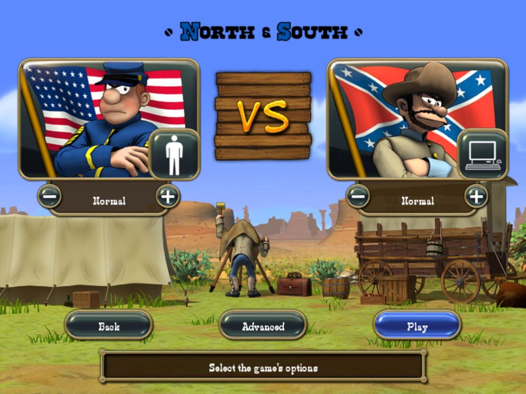 The Bluecoats: North vs South screenshot