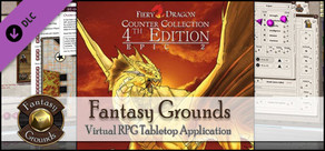 Fantasy Grounds - Fiery Dragon Counter Collection: Epic 2