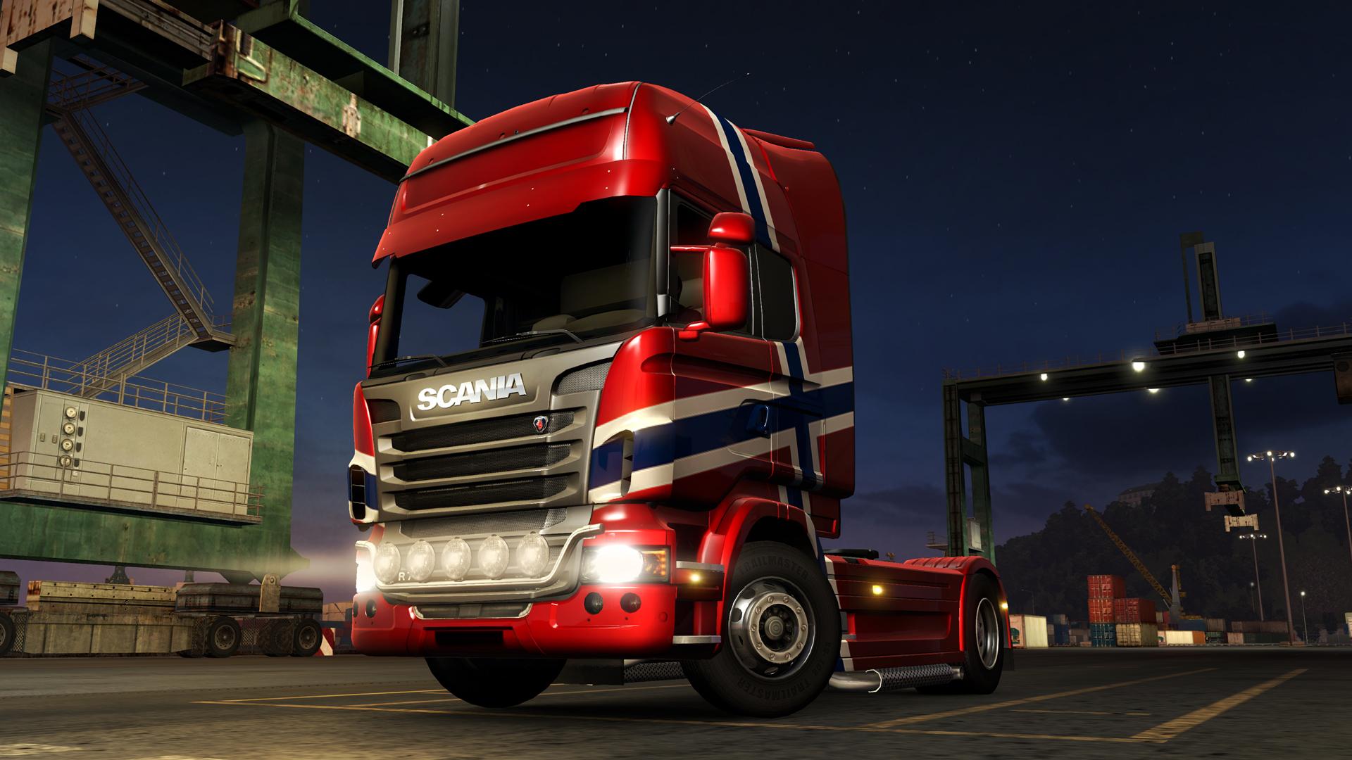 Euro Truck Simulator 2 - Norwegian Paint Jobs Pack screenshot