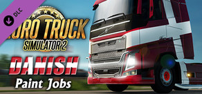 Euro Truck Simulator 2 - Danish Paint Jobs Pack