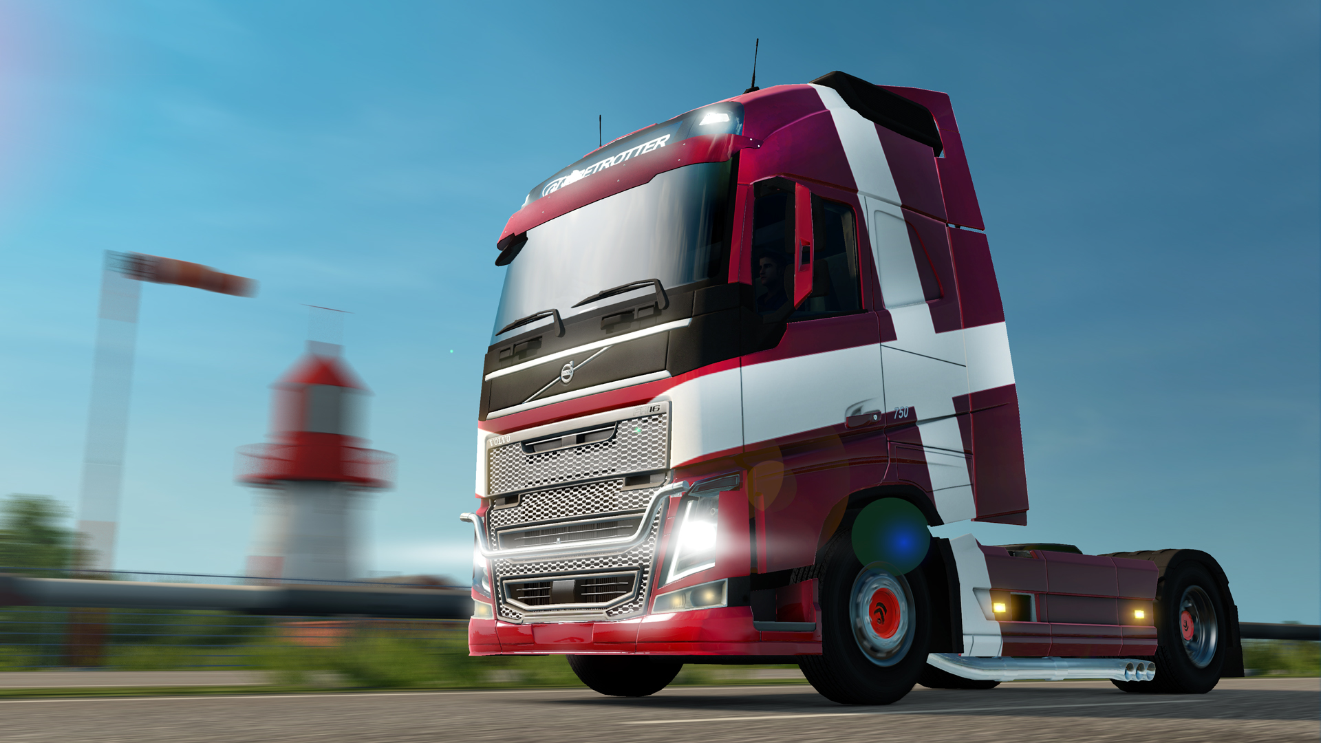 Euro Truck Simulator 2 - Danish Paint Jobs Pack screenshot