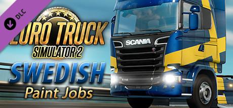 Euro Truck Simulator 2 - Swedish Paint Jobs Pack