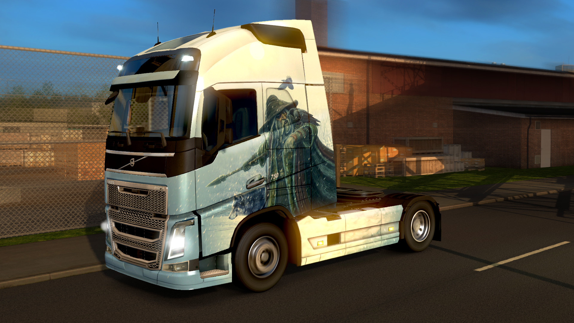 Euro Truck Simulator 2 - Viking Legends screenshot
