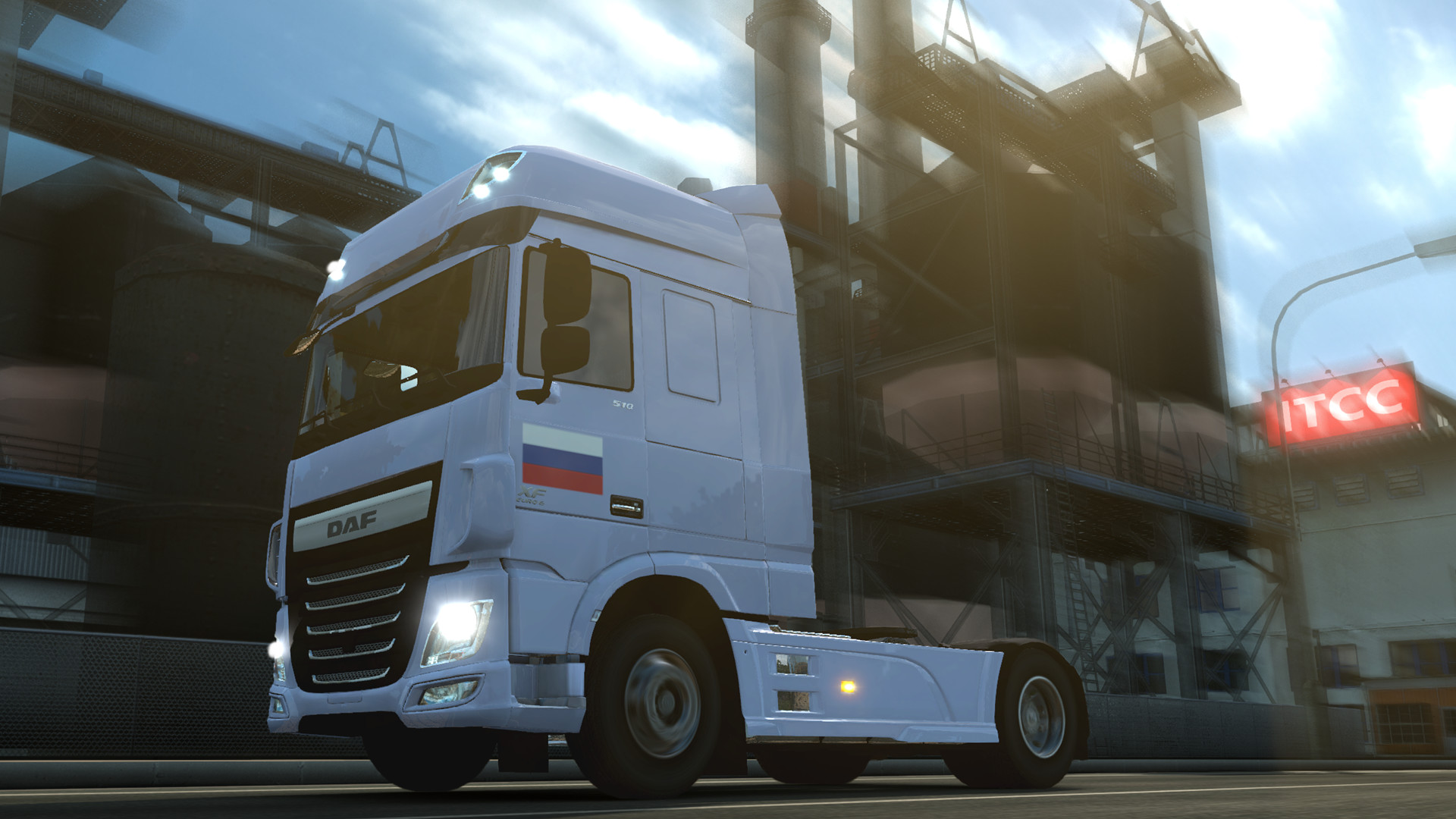 Euro Truck Simulator 2 - Russian Paint Jobs Pack screenshot