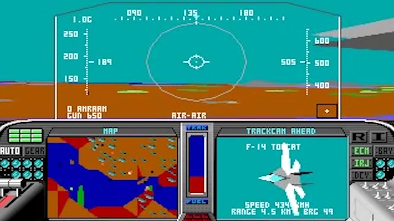 F-19 Stealth Fighter screenshot
