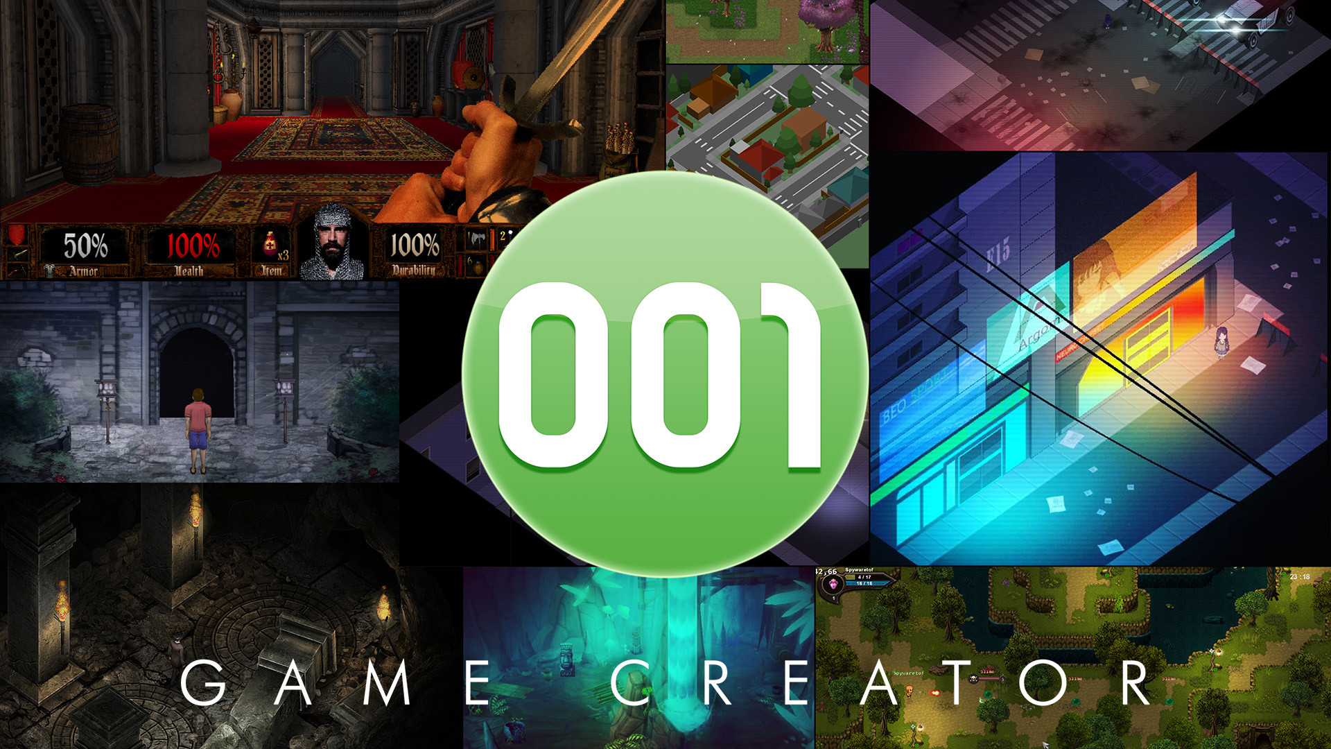 001 Game Creator screenshot