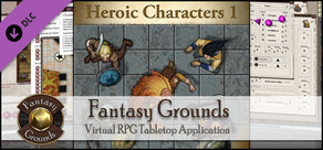 Fantasy Grounds - Top-down Tokens - Heroic 1