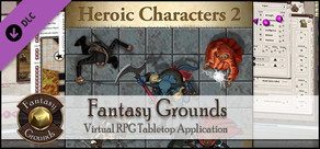 Fantasy Grounds - Top-down Tokens - Heroic 2