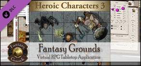Fantasy Grounds - Top-down Tokens - Heroic 3