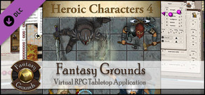 Fantasy Grounds - Top-down Tokens - Heroic 4
