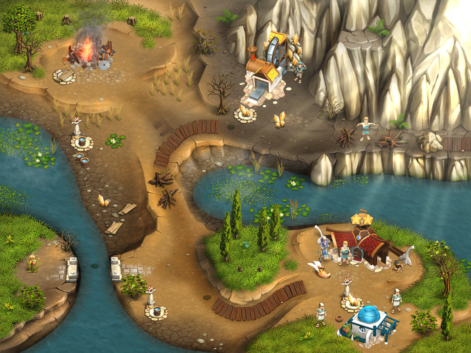 Legends of Atlantis: Exodus screenshot