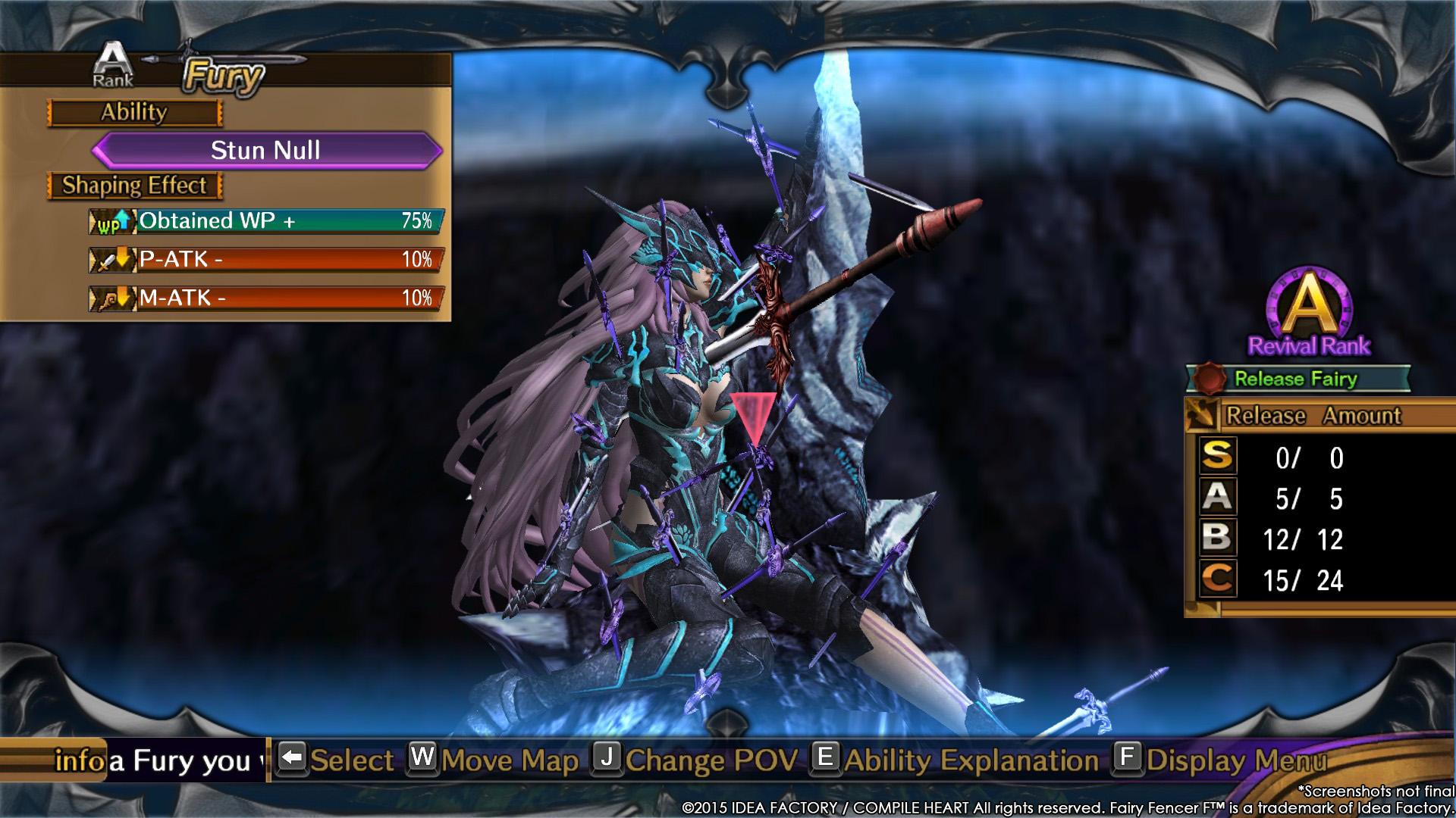 Fairy Fencer F screenshot