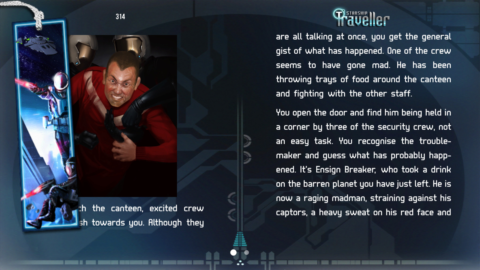Starship Traveller screenshot