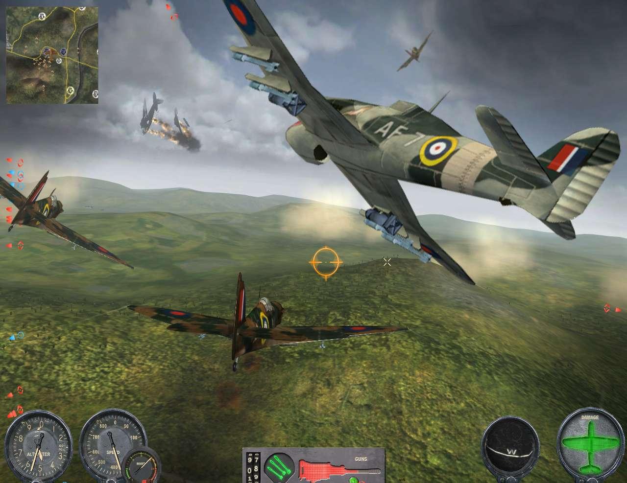Combat Wings: Battle of Britain screenshot