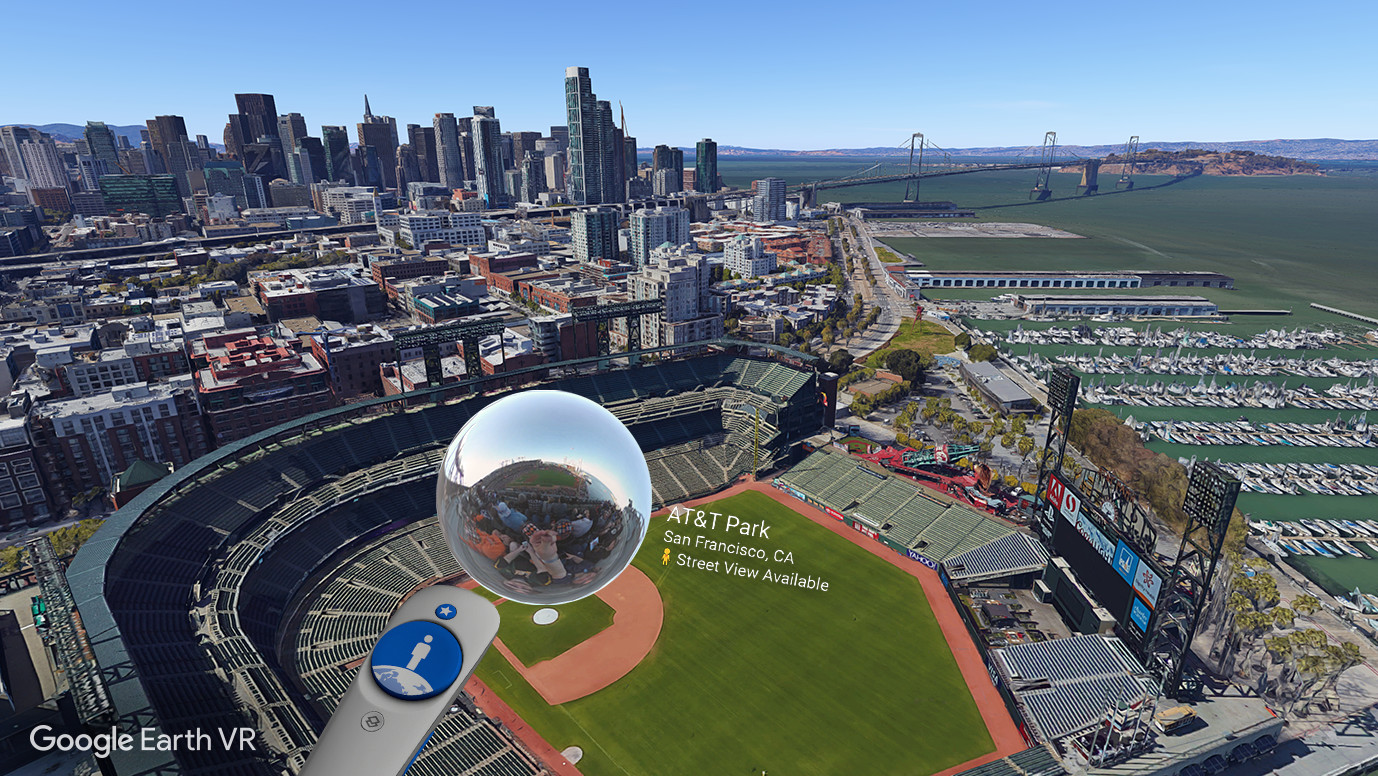Google earth vr on steam for Goodl