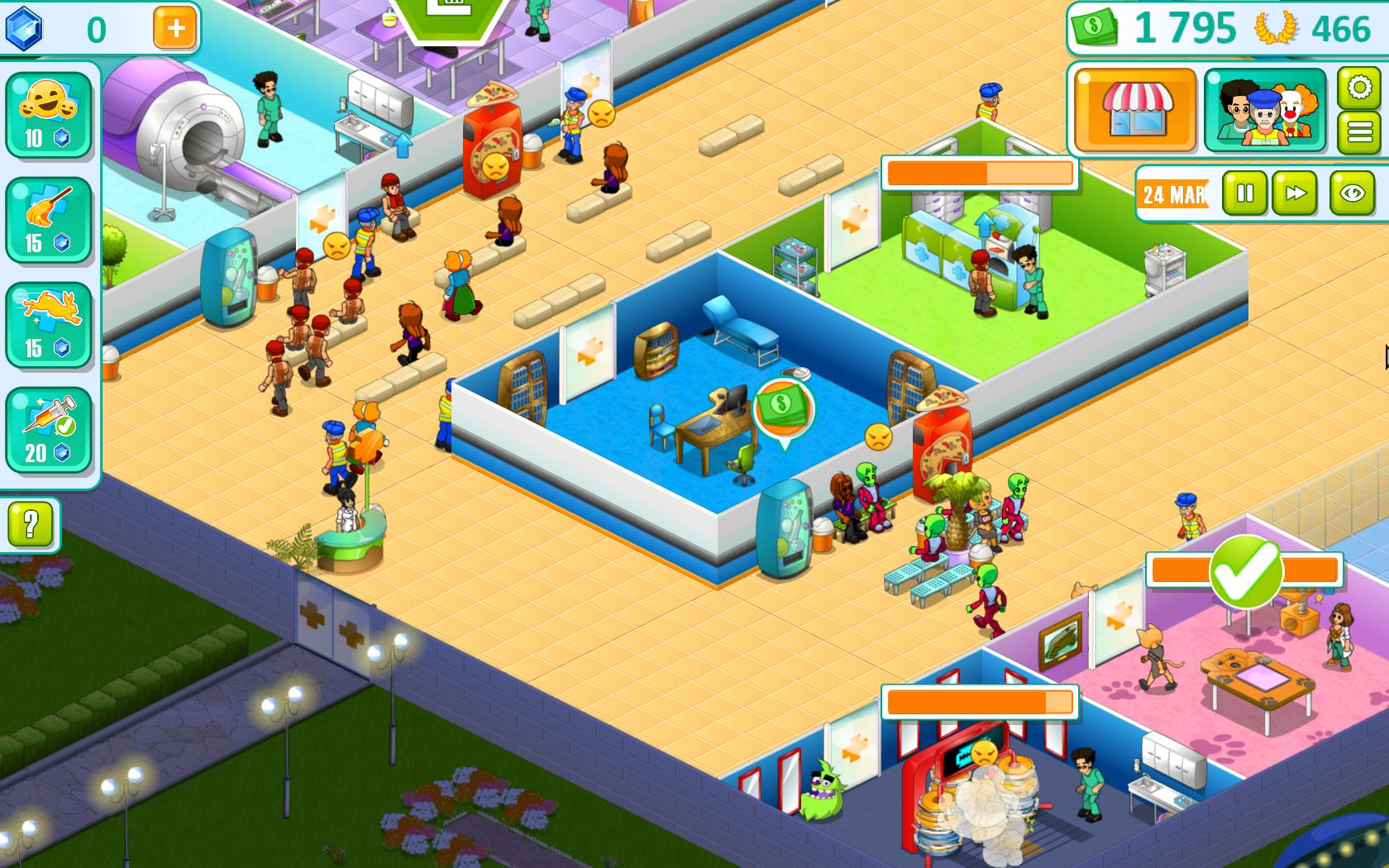 Hospital Manager screenshot