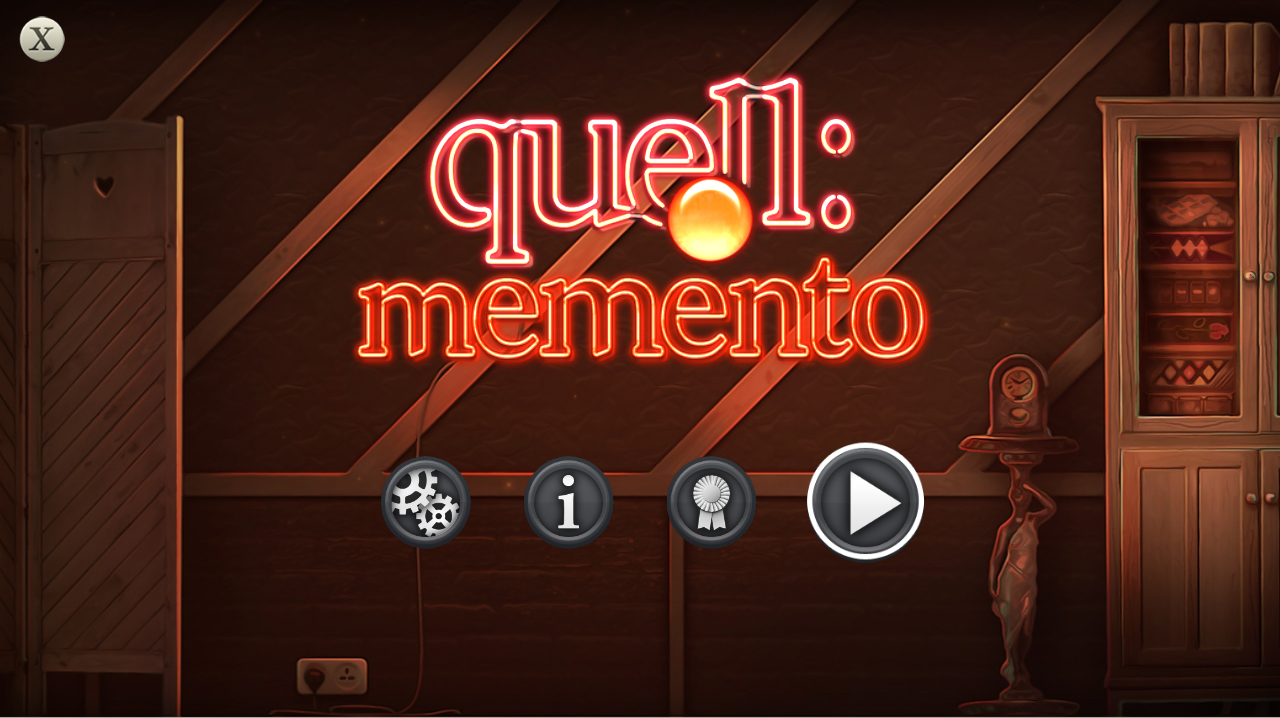 Quell Memento screenshot