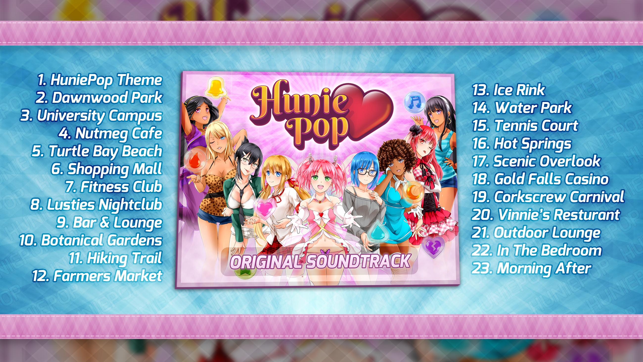 HuniePop Original Soundtrack screenshot