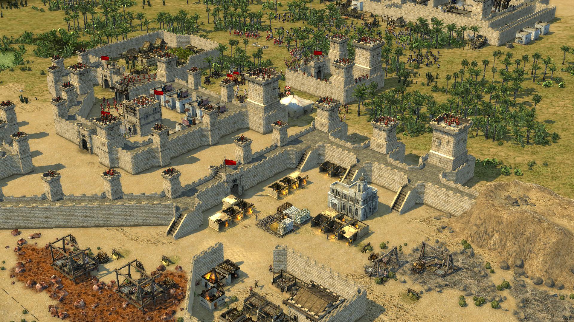 Stronghold Crusader 2: The Princess and The Pig screenshot