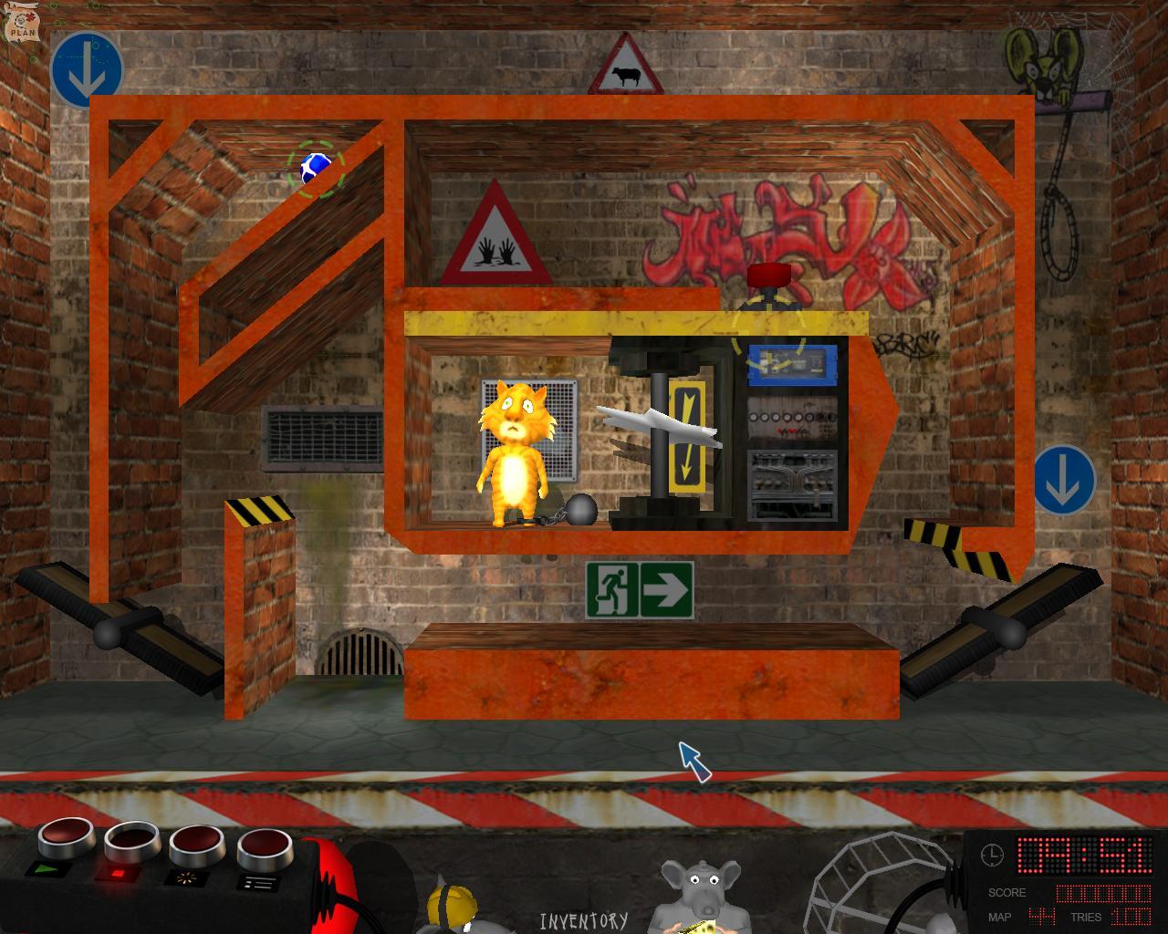 Bad Rats: the Rats' Revenge screenshot