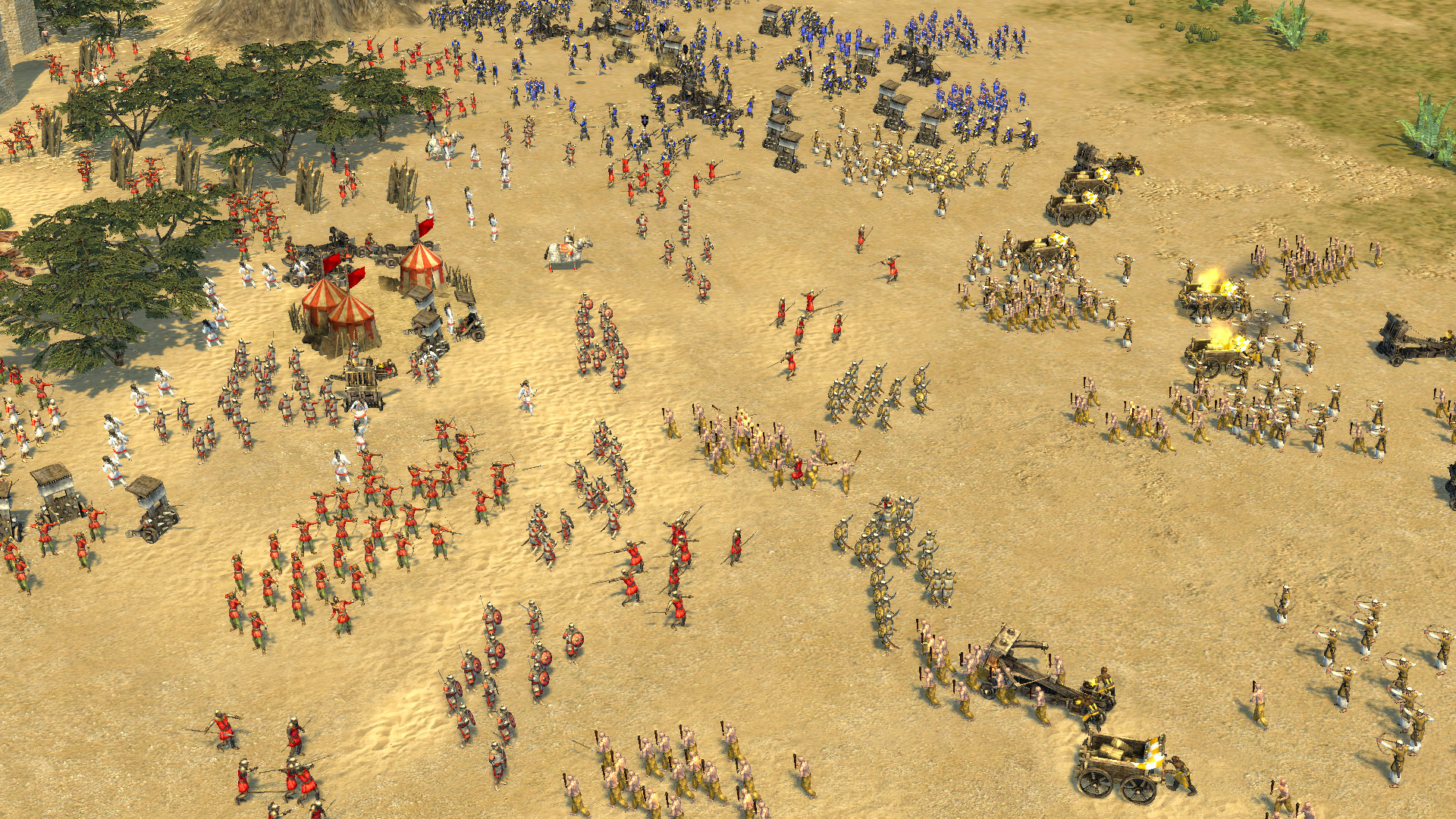 Stronghold Crusader 2: The Emperor and The Hermit screenshot