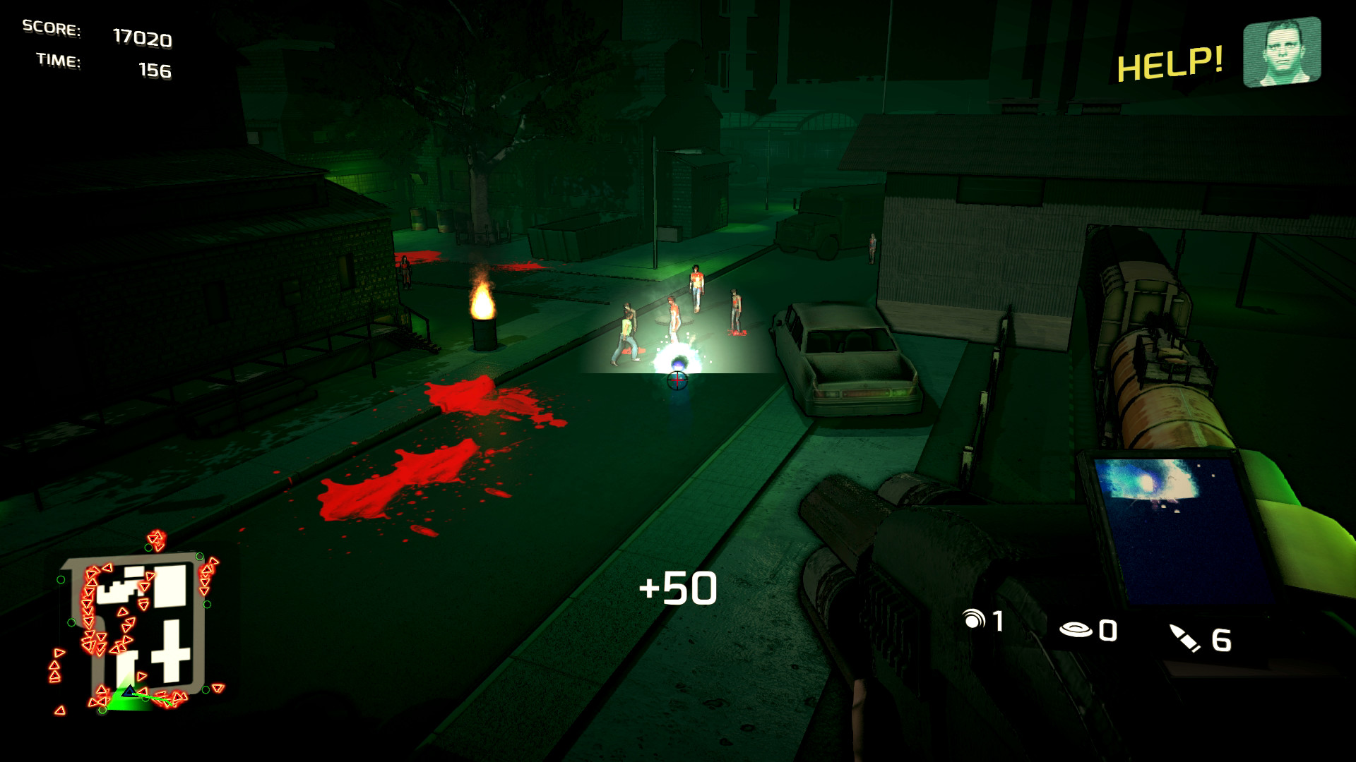 Скриншот Dead TrailZ (Игра на стадии разработки) №2