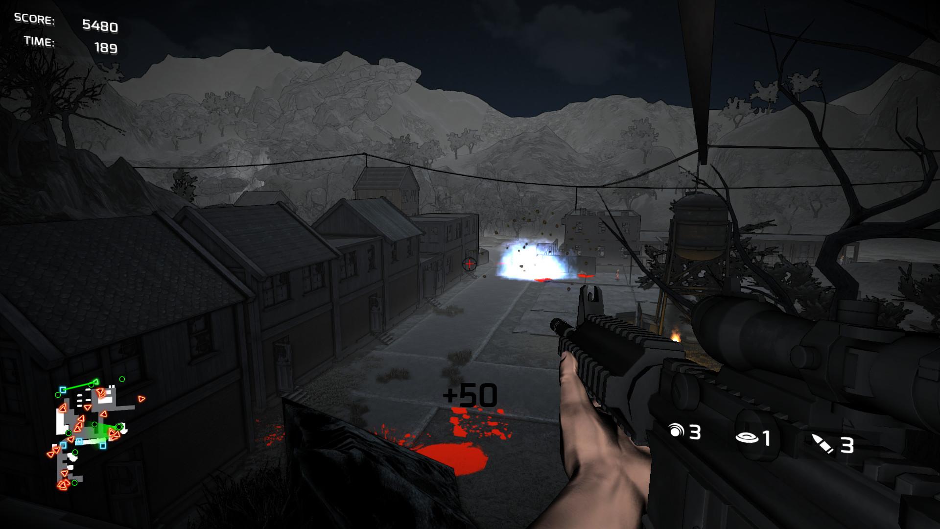Скриншот Dead TrailZ (Игра на стадии разработки) №3