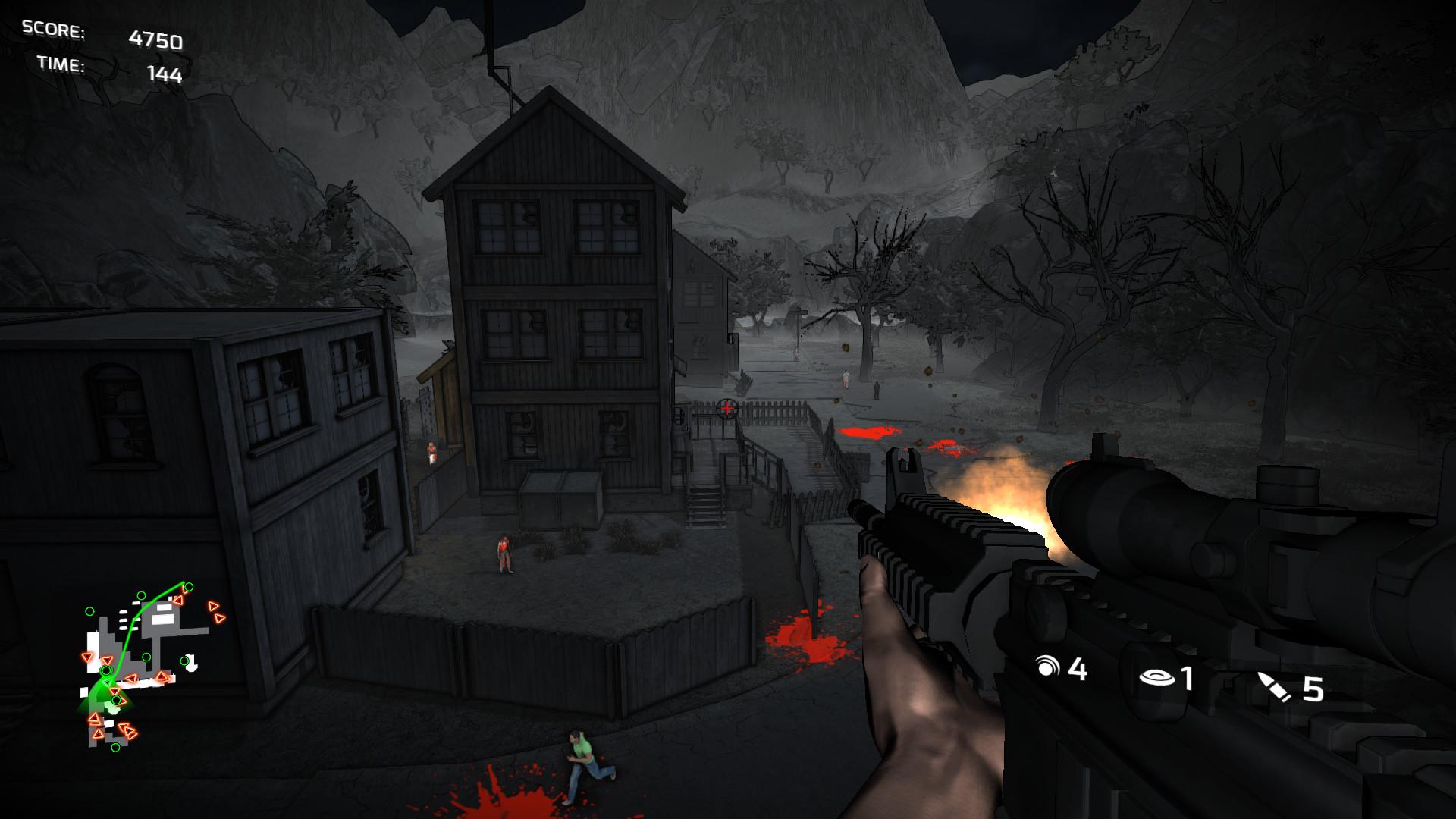 Скриншот Dead TrailZ (Игра на стадии разработки)