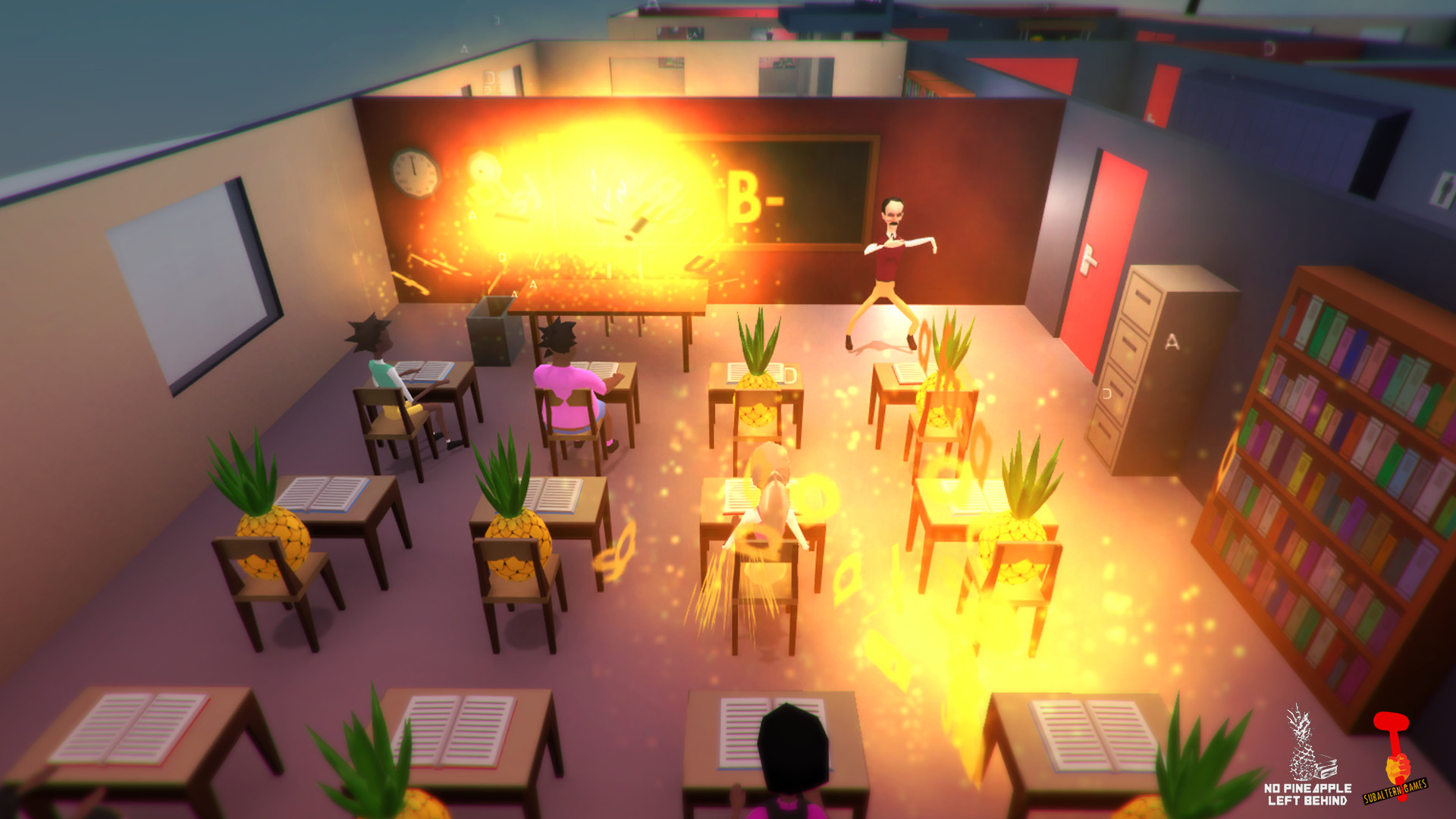 Screenshots of No Pineapple Left Behind PC Game