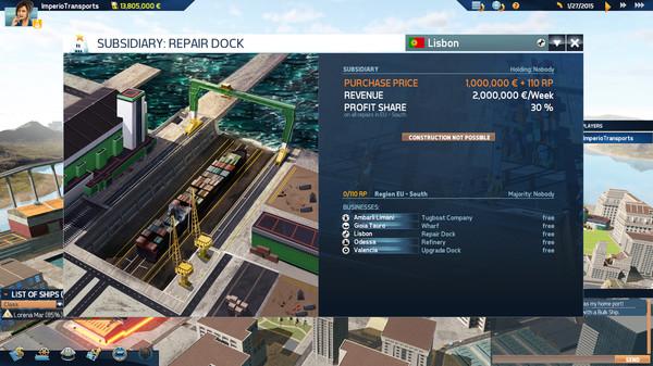 TransOcean 2: Rivals PC-CODEX