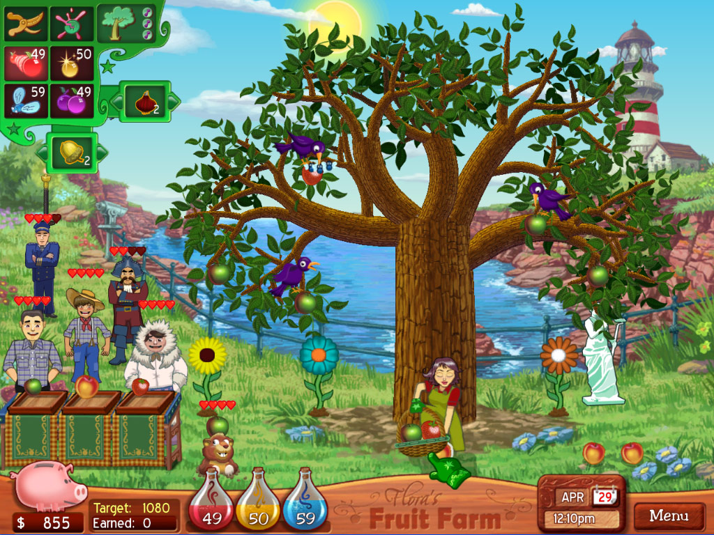 Flora's Fruit Farm screenshot