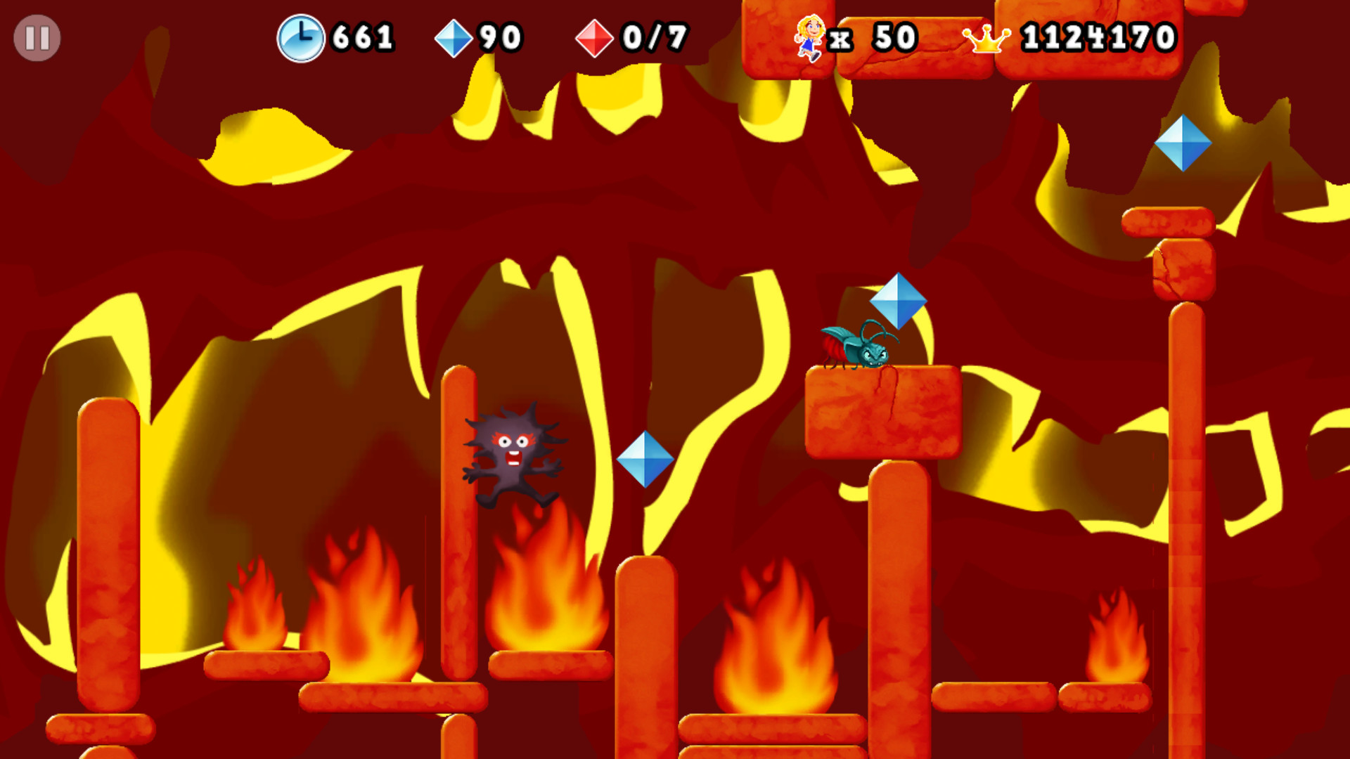 Giana Sisters 2D screenshot
