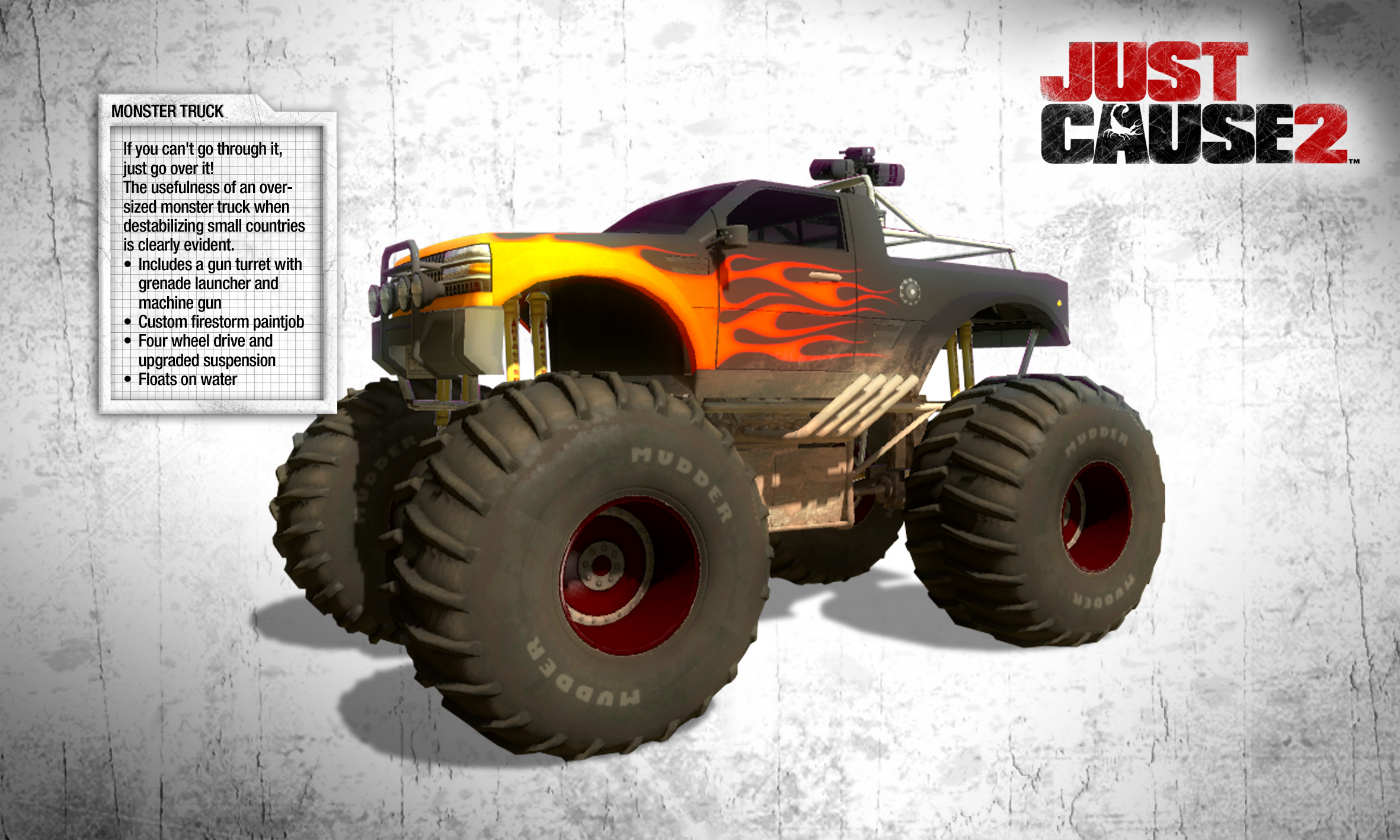Just Cause 2: Monster Truck DLC screenshot