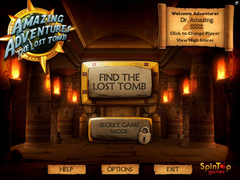 Amazing Adventures The Lost Tomb screenshot