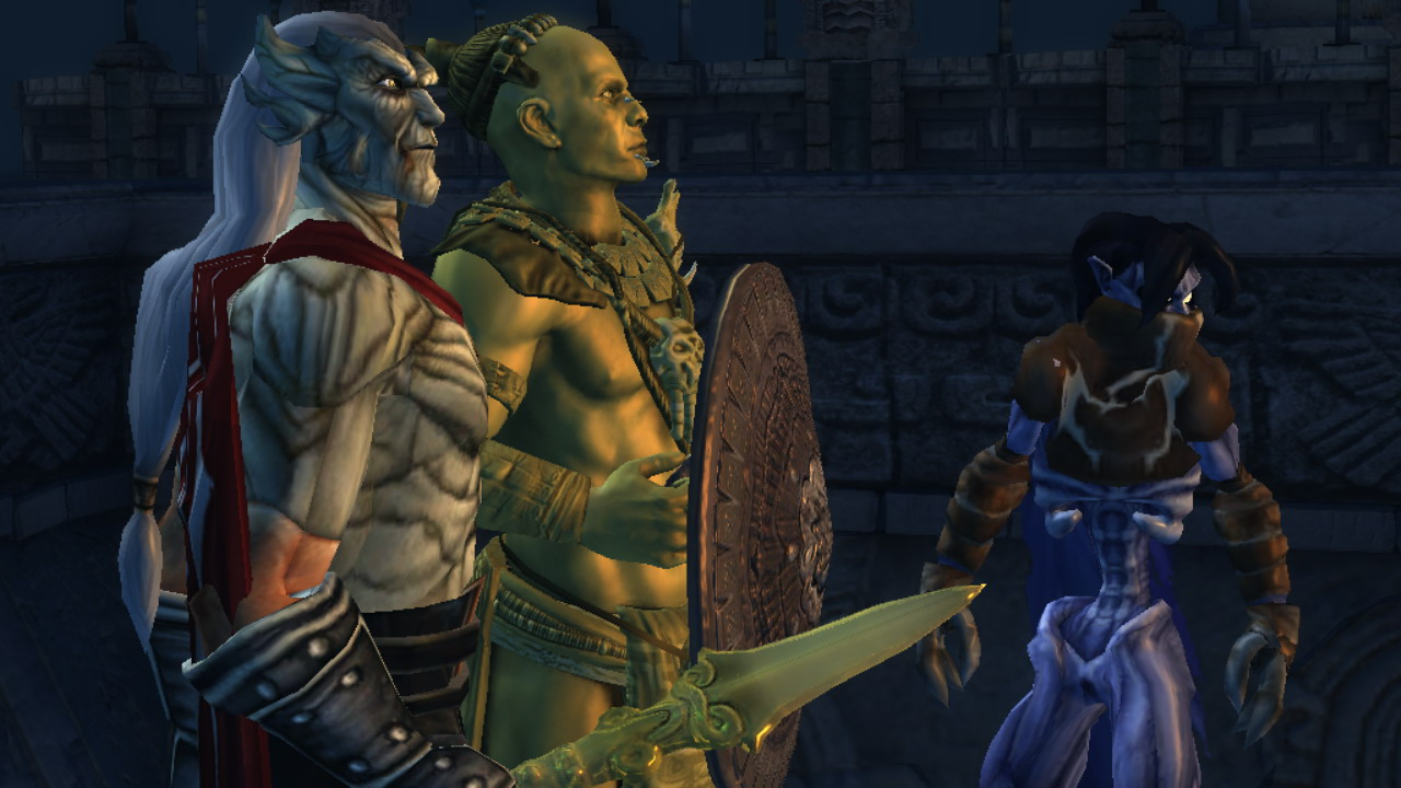 Lara Croft GoL: Raziel and Kain Character Pack screenshot