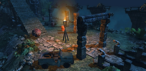 Lara Croft GoL: Things that Go Boom - Challenge Pack 2 screenshot