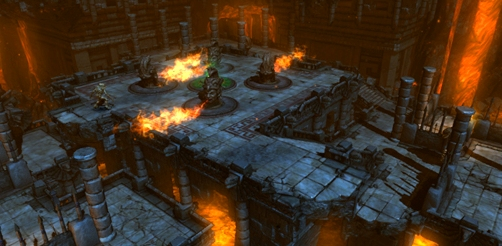 Lara Croft GoL: Hazardous Reunion - Challenge Pack 3 screenshot